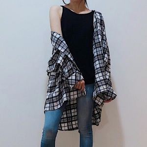 Urban Outfitters Tops - Urban Outfitters oversized flannel shirt